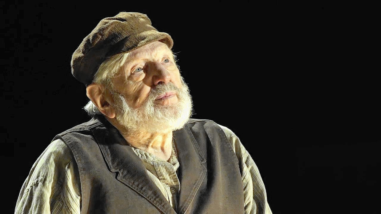 Fiddler On The Roof S Tevye Theodore Bikel On Sholom
