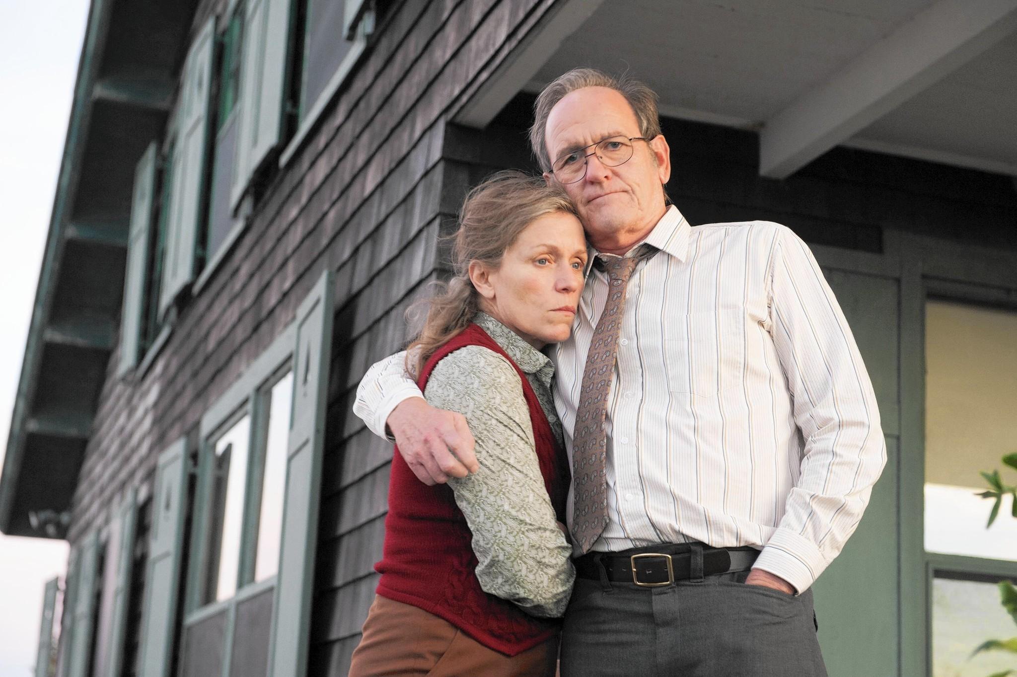 Frances McDormand and Richard Jenkins in