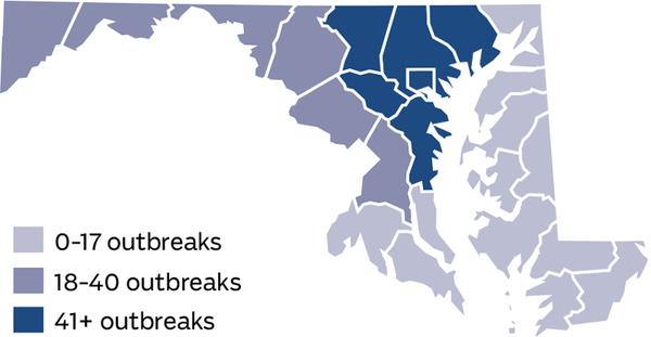 Snapshot of flu in Maryland Baltimore Sun