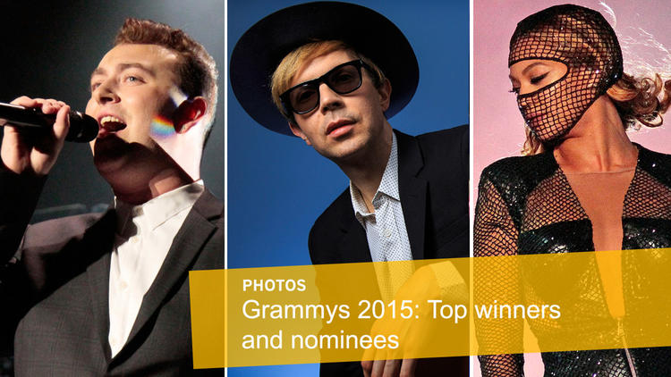 Top Grammy winners, nominees