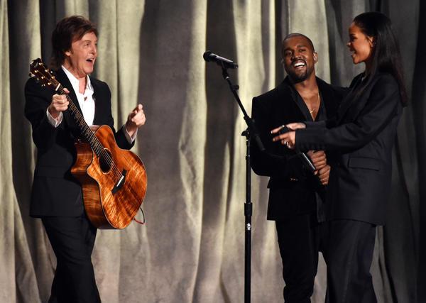 Rhianna, Paul McCartney, Kanye