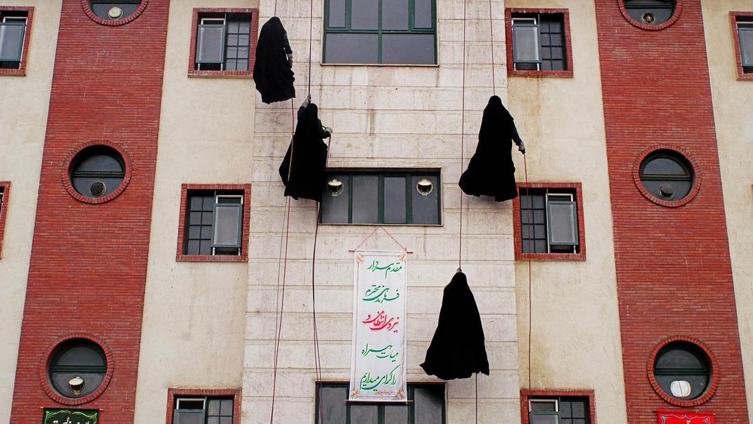 Police Women Academy, 2006 by Abbas Kowsari