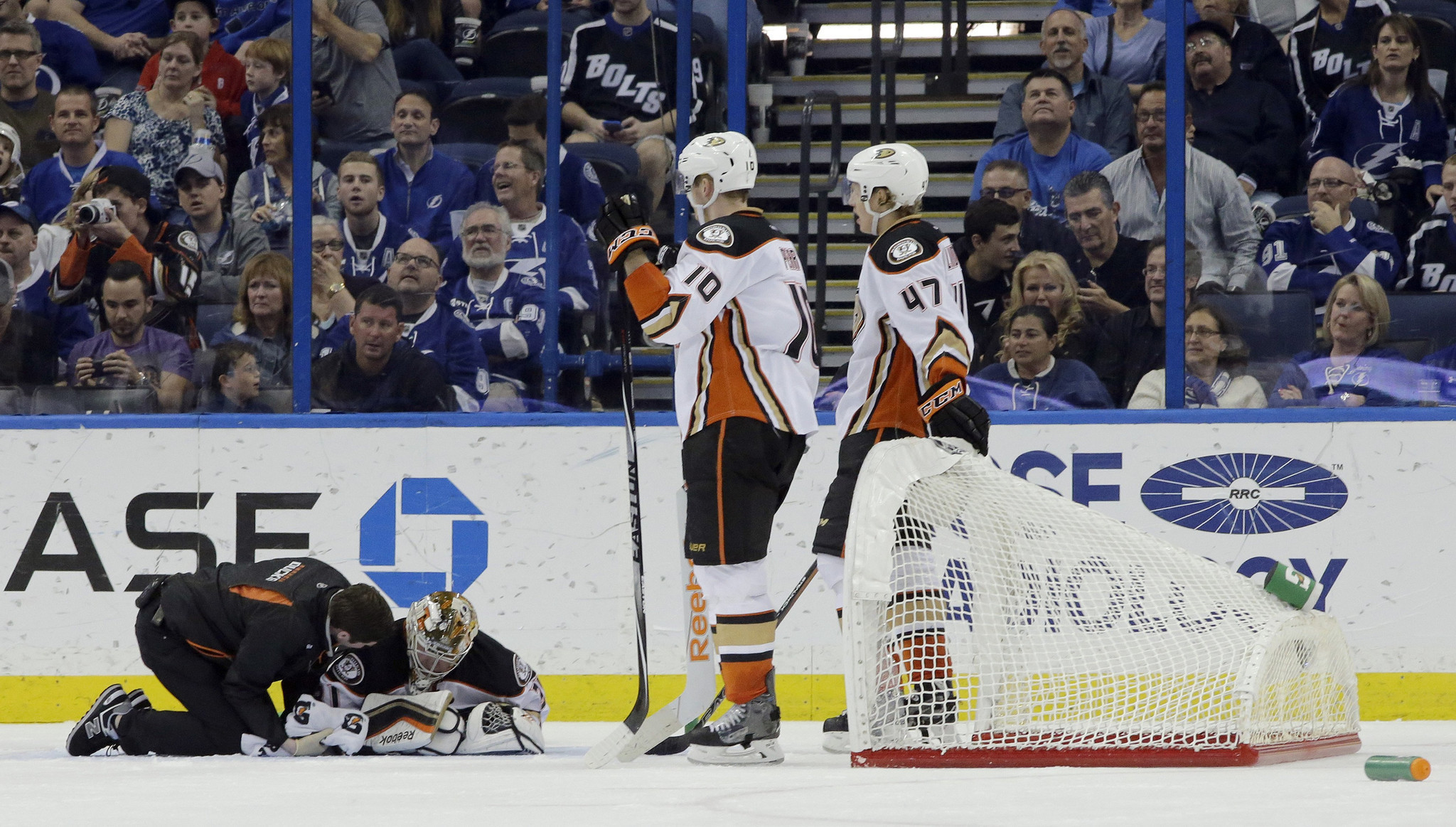 Ducks' Frederik Andersen May Sit Out After Head Injury In Sunday's Game