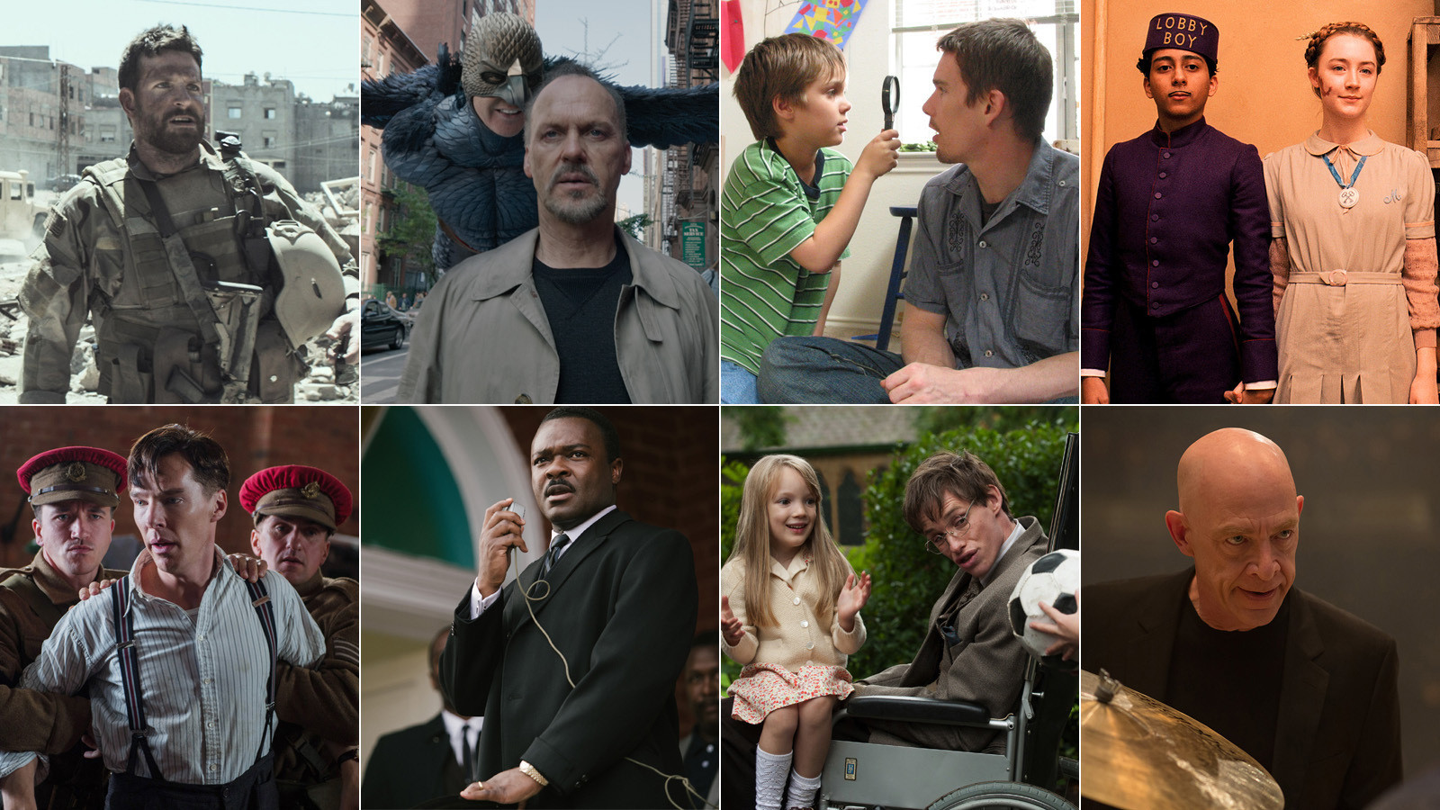 Academy awards 2015 complete list of oscar nominees and for Oscar awards winning movies