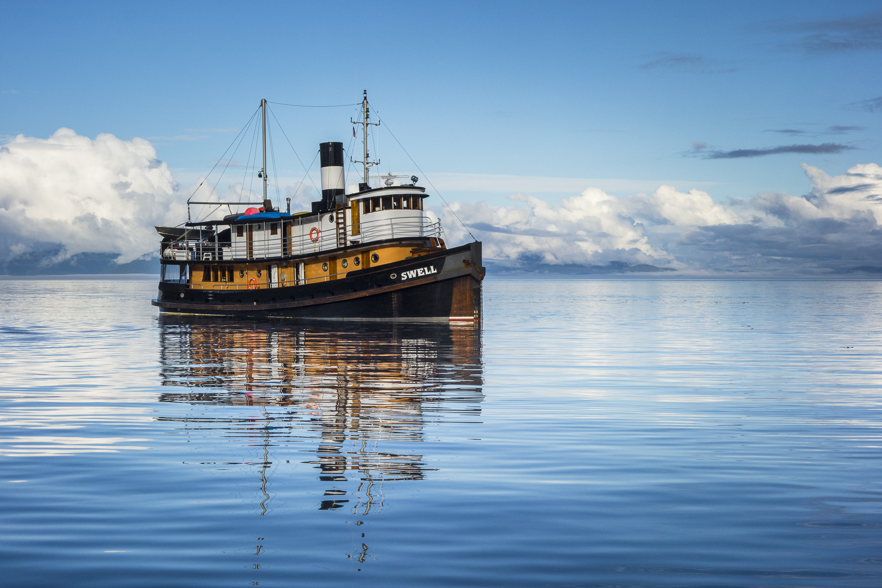 For A Swell Time Try A Tugboat Cruise On British