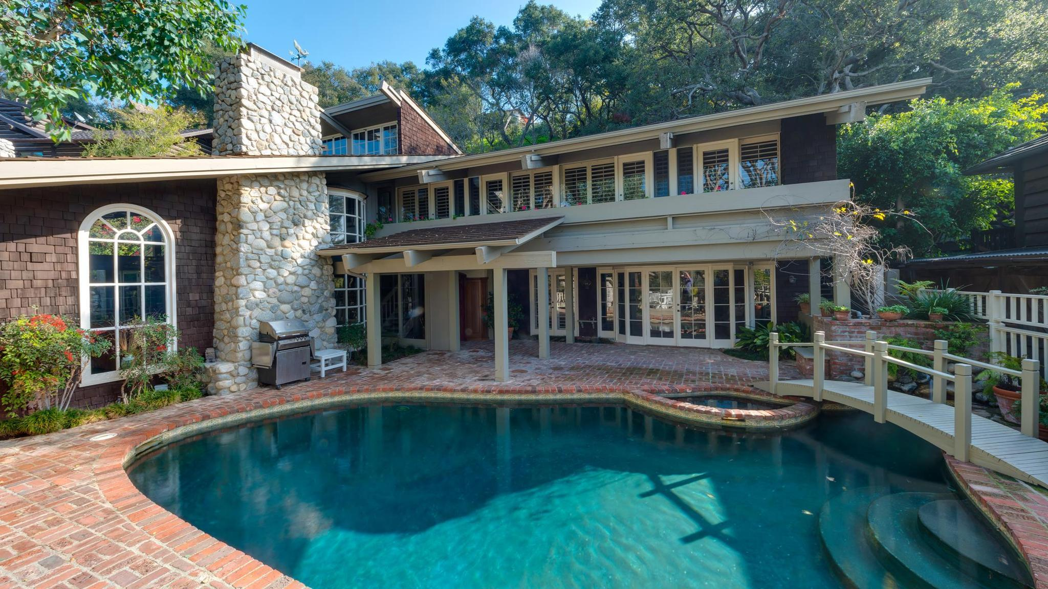 Home of the day relaxed vibe in rustic canyon daily press - Residence santa monica canyon en californie ...
