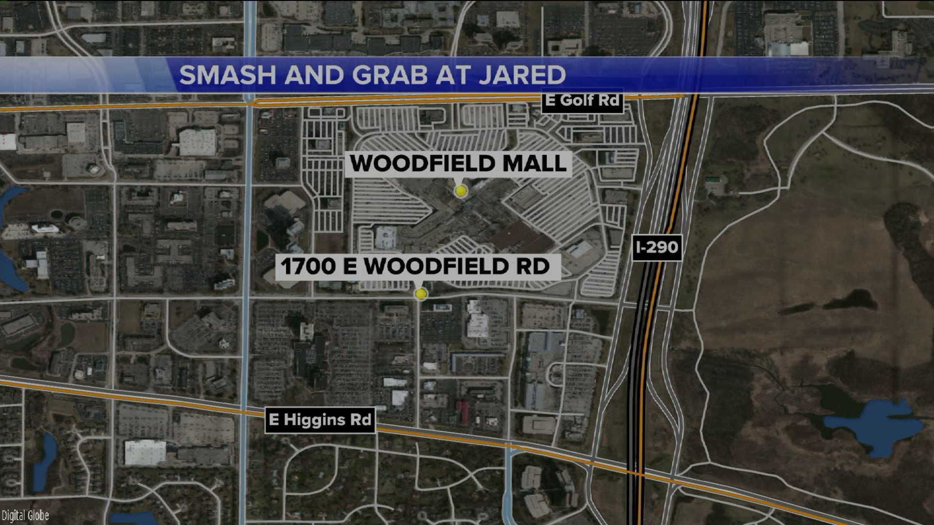 Thieves steal more than 425K in jewels from Woodfield store