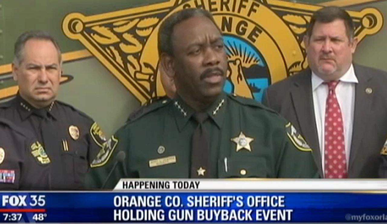 Orange county sheriff 39 s office holds gun buyback event - Orange county sheriffs office florida ...