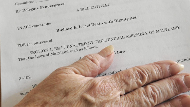 Richard E. Israel Death with Dignity Act