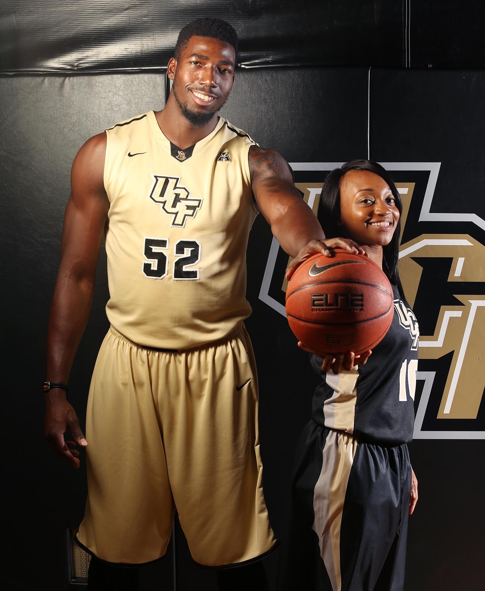 Knight Basketball Player Wallpaper: UCF Staphon Blair: Five Fun Questions
