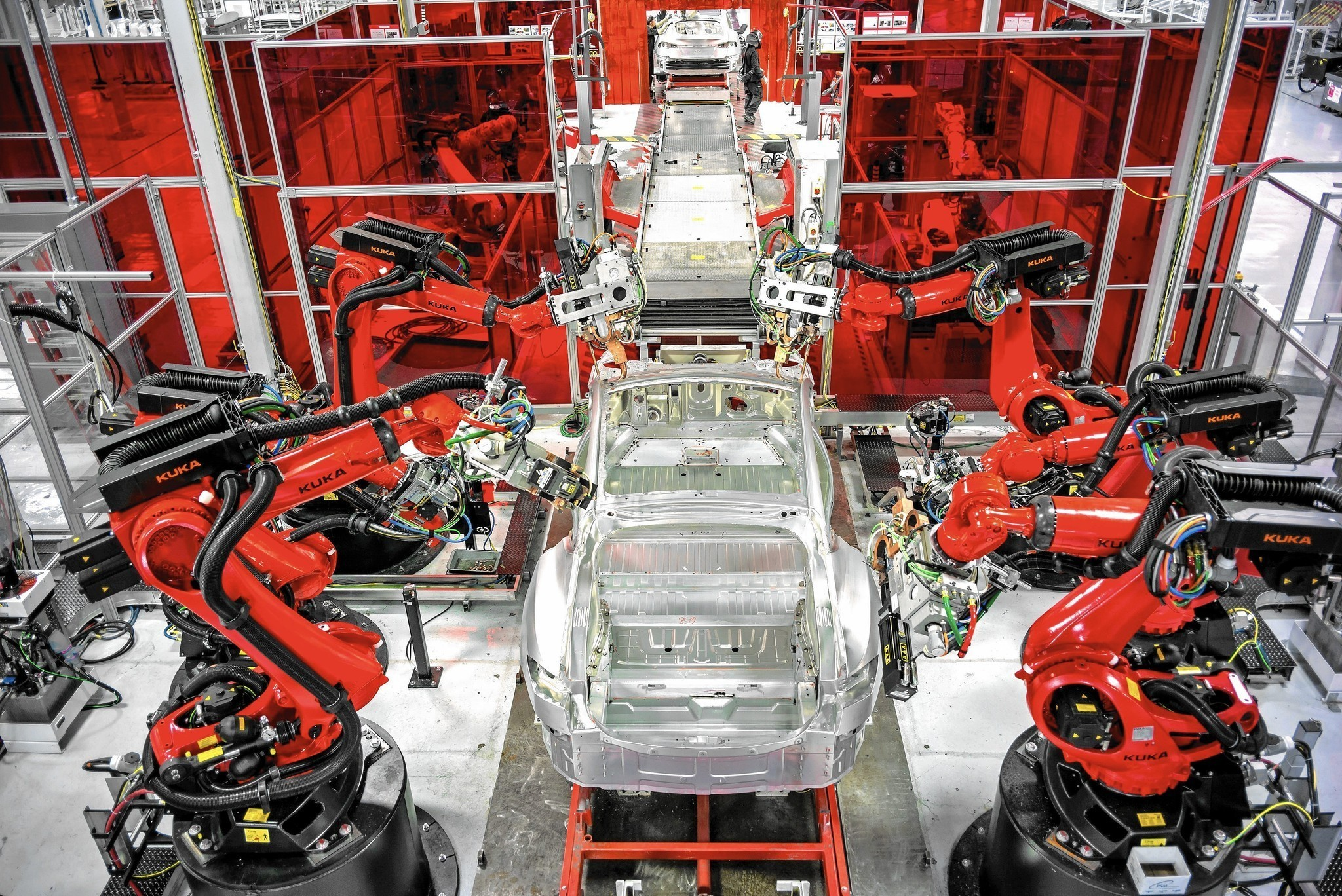 Tesla Factory Racing To Retool For New Models La Times