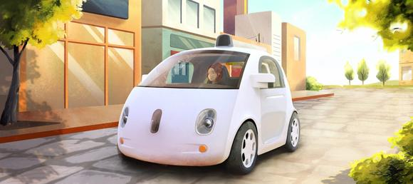 Google 39 s new self driving car for Mercedes benz of annapolis service coupons