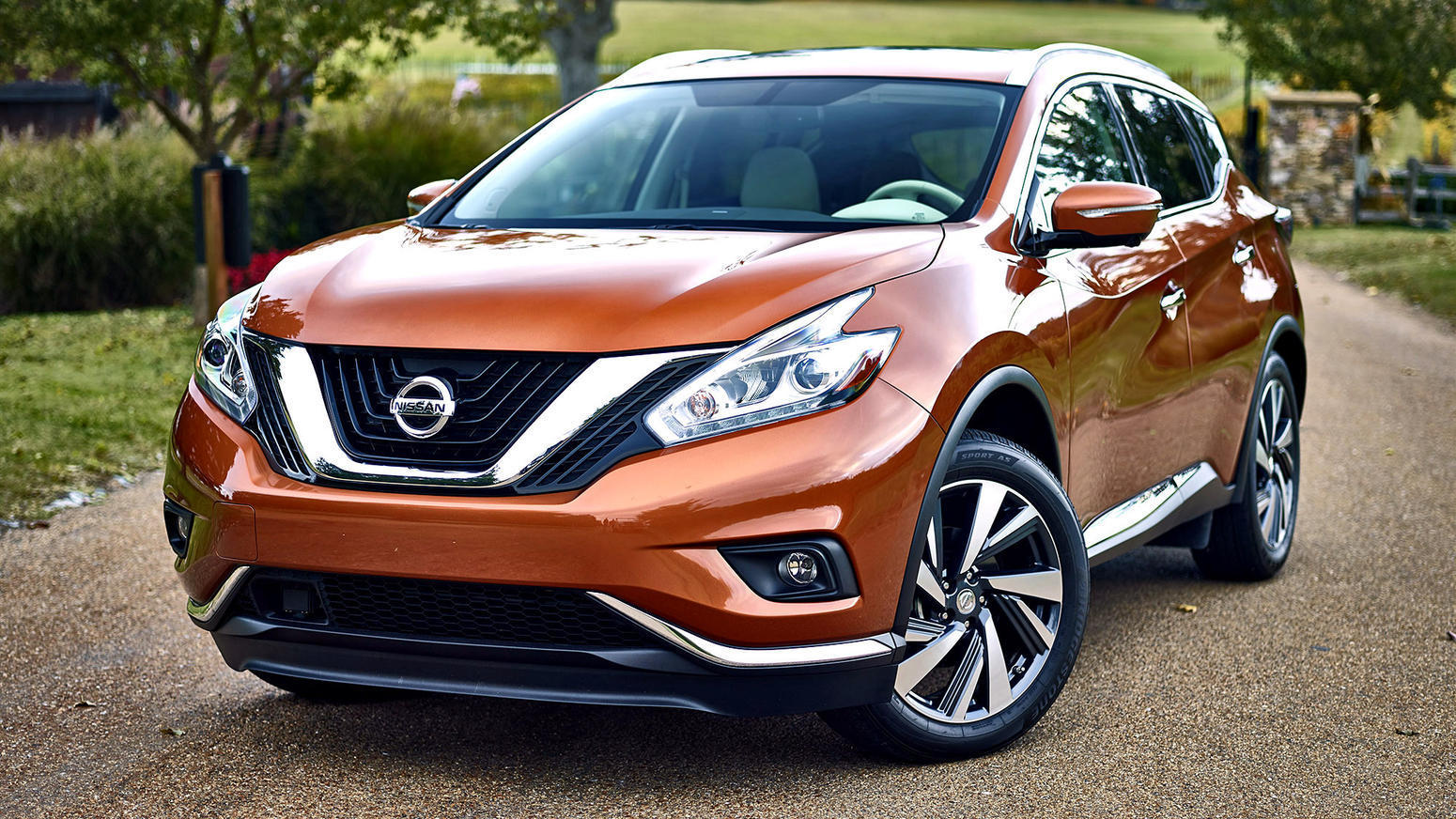 Burnt Orange Nissan Murano