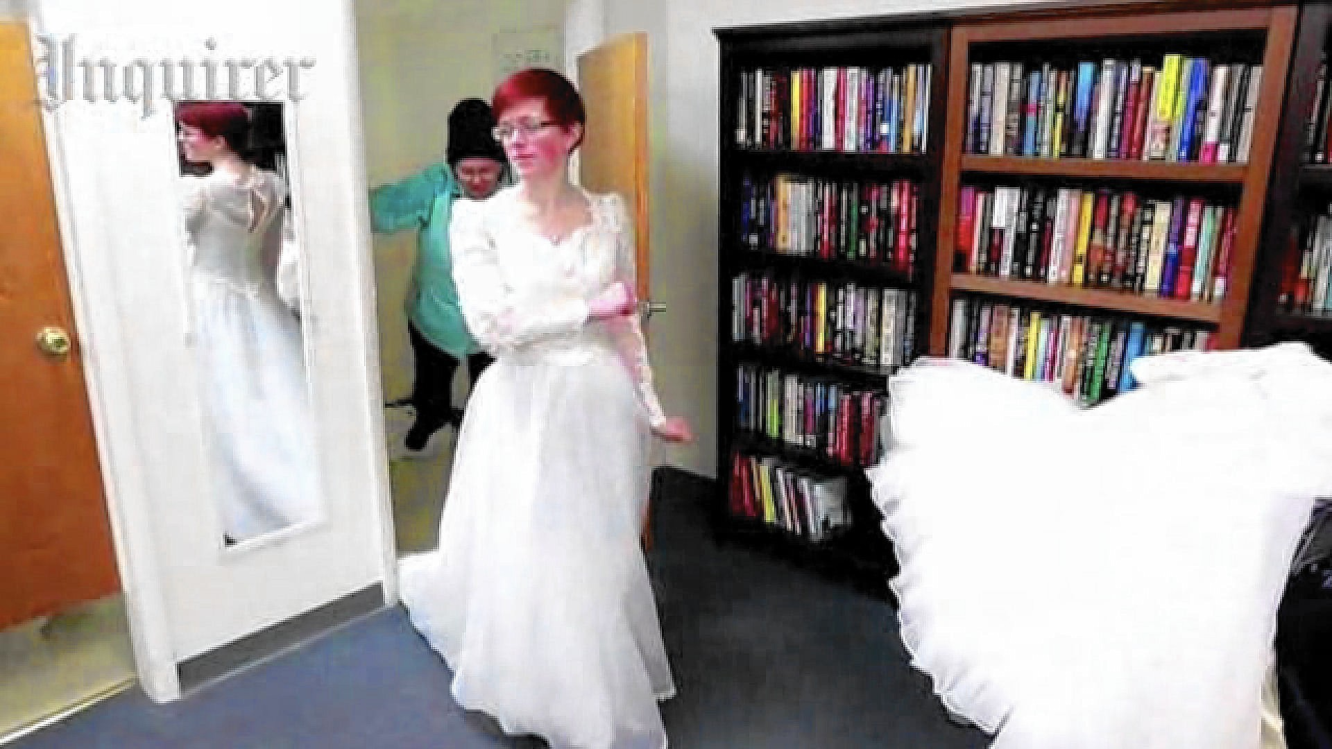 Brides brave cold for Goodwill\'s Valentine\'s Day gown sale - The ...