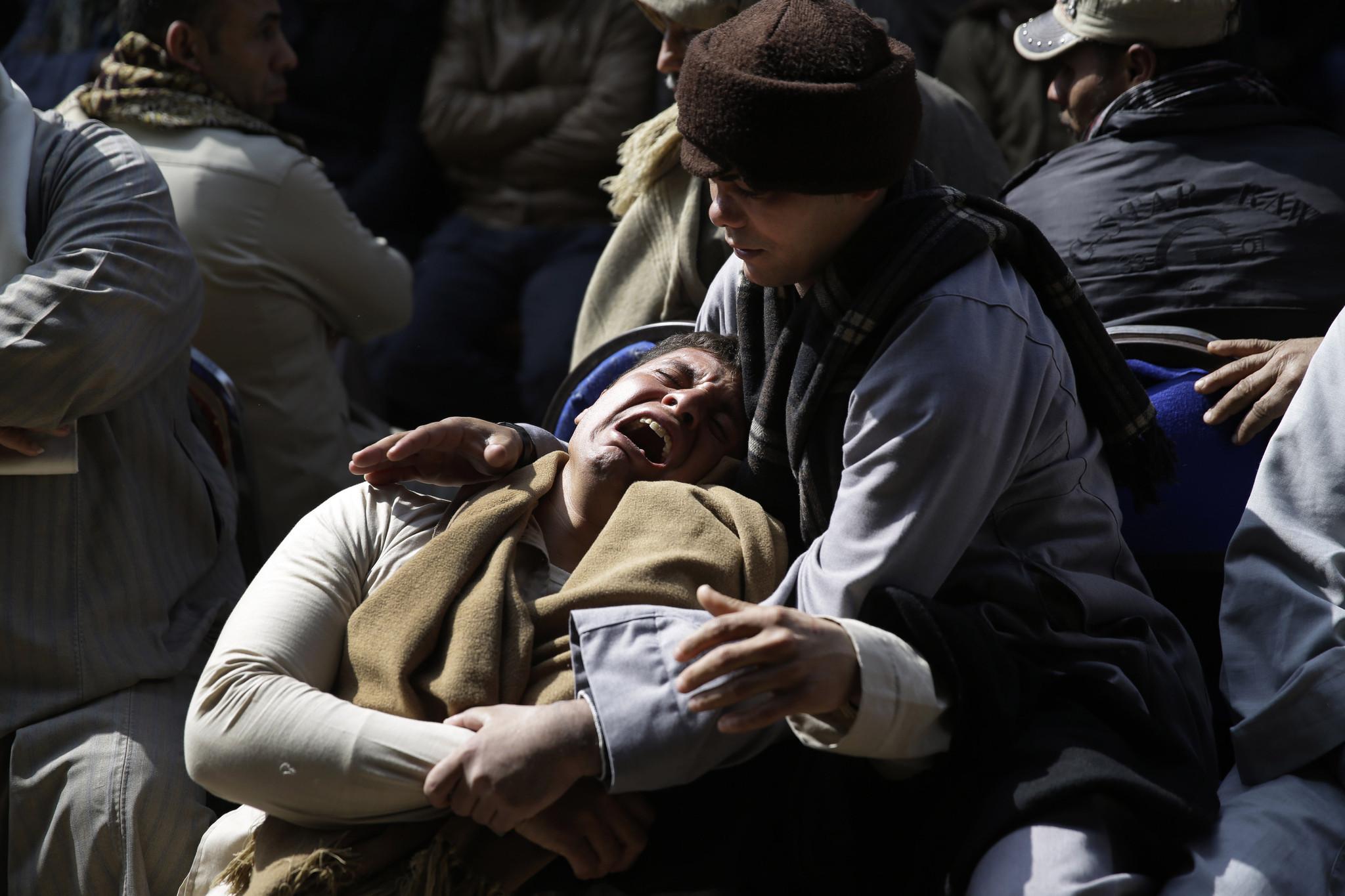 Egypt warplanes strike Islamic State targets after hostage massacre