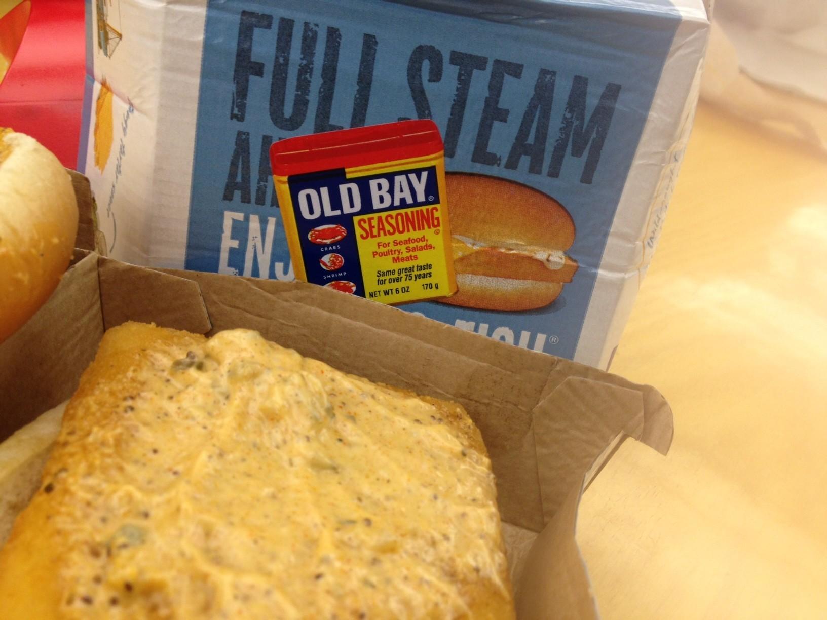 We try the old bay filet o fish at mcdonald 39 s daily press for Filet o fish