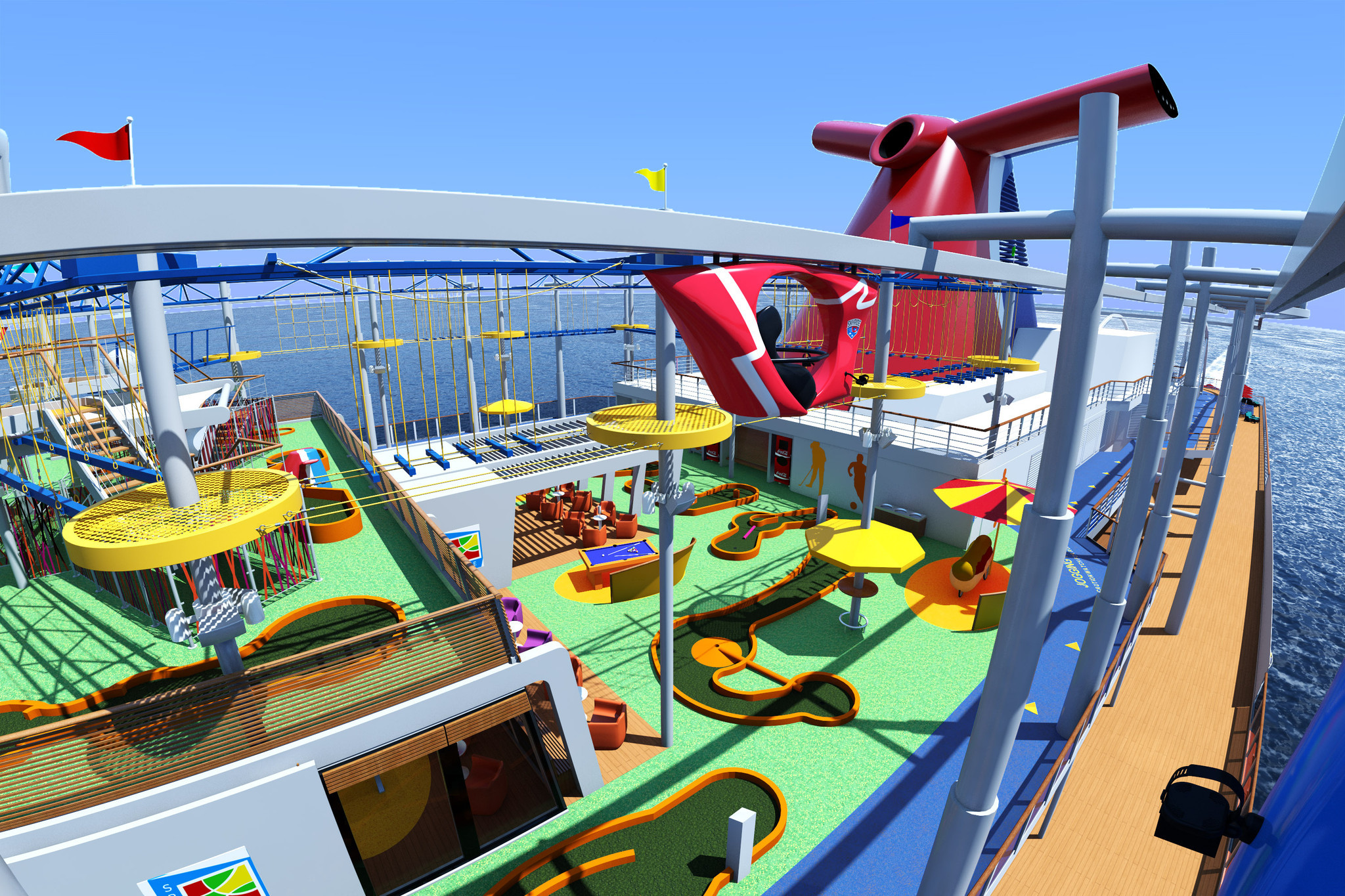 Carnival Vista The Cruise Line S Newest And Largest Ship To Be Based In Miami Sun Sentinel