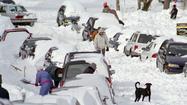Baltimore's biggest snowfalls