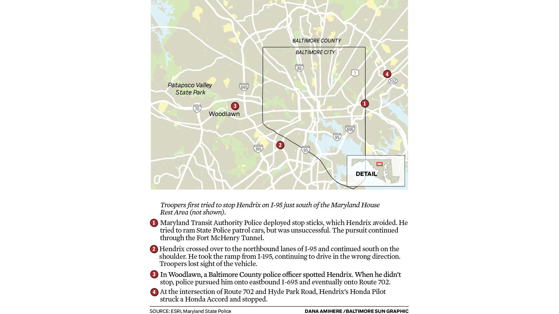 Graphic: Pursuit of Kentucky murder suspect - Baltimore Sun