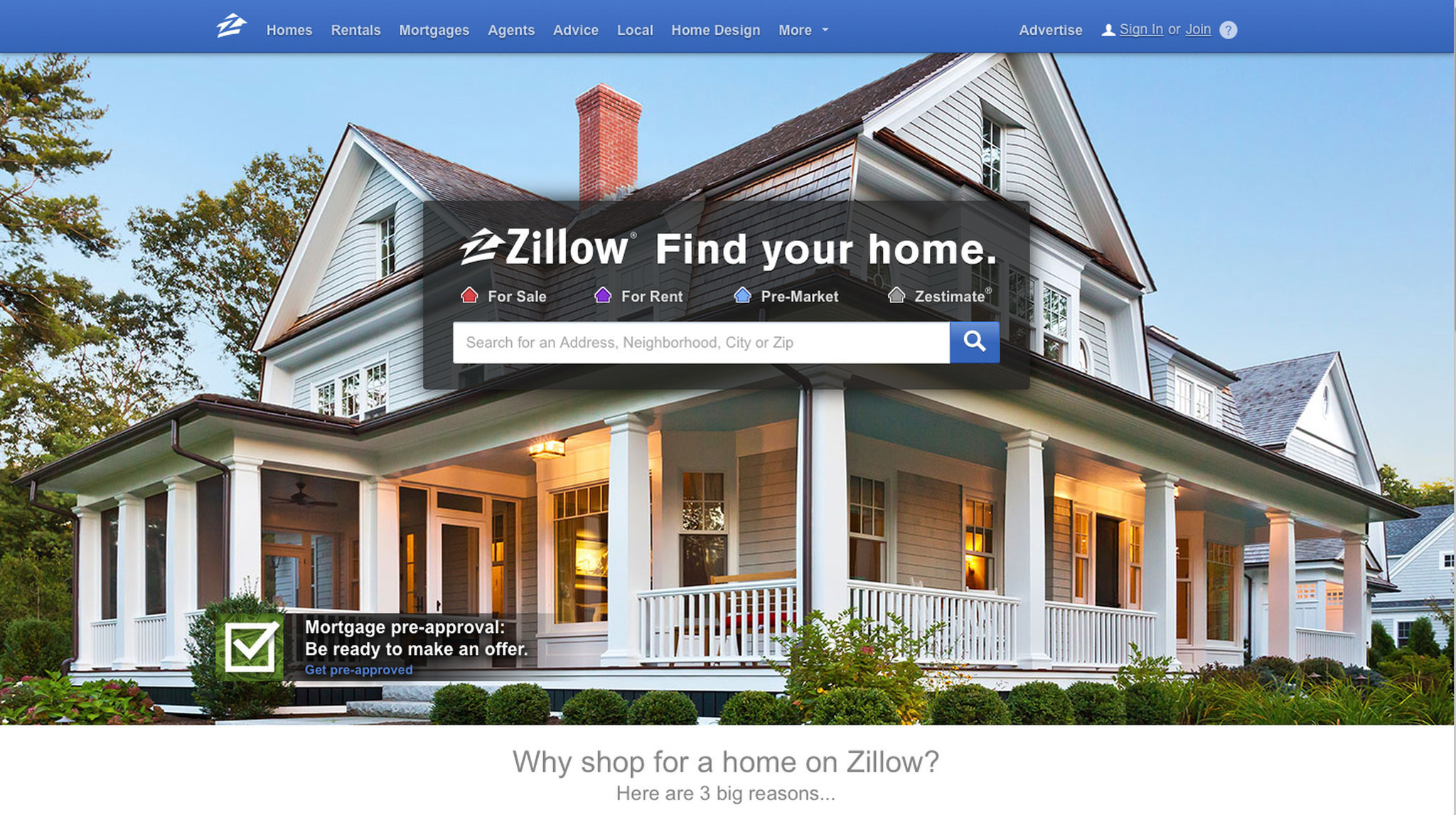 Behemoths squaring off in home search process chicago for Zillow rent to own chicago