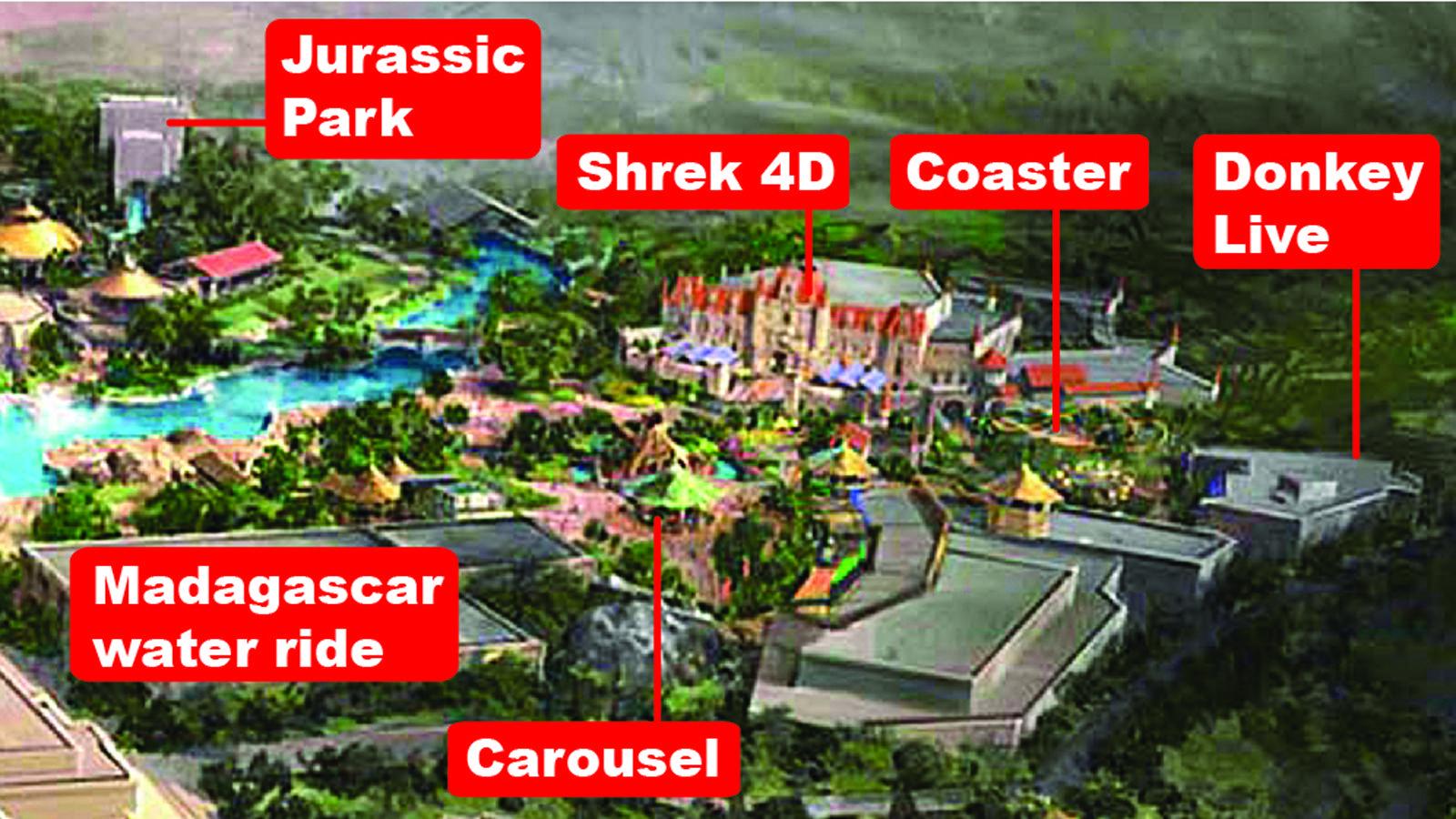 travel themeparks universal studios beijing china story