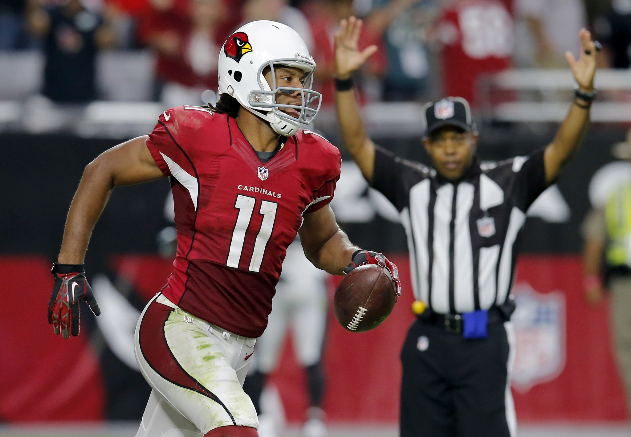 Cardinals Larry Fitzgerald restructure contract Chicago Tribune