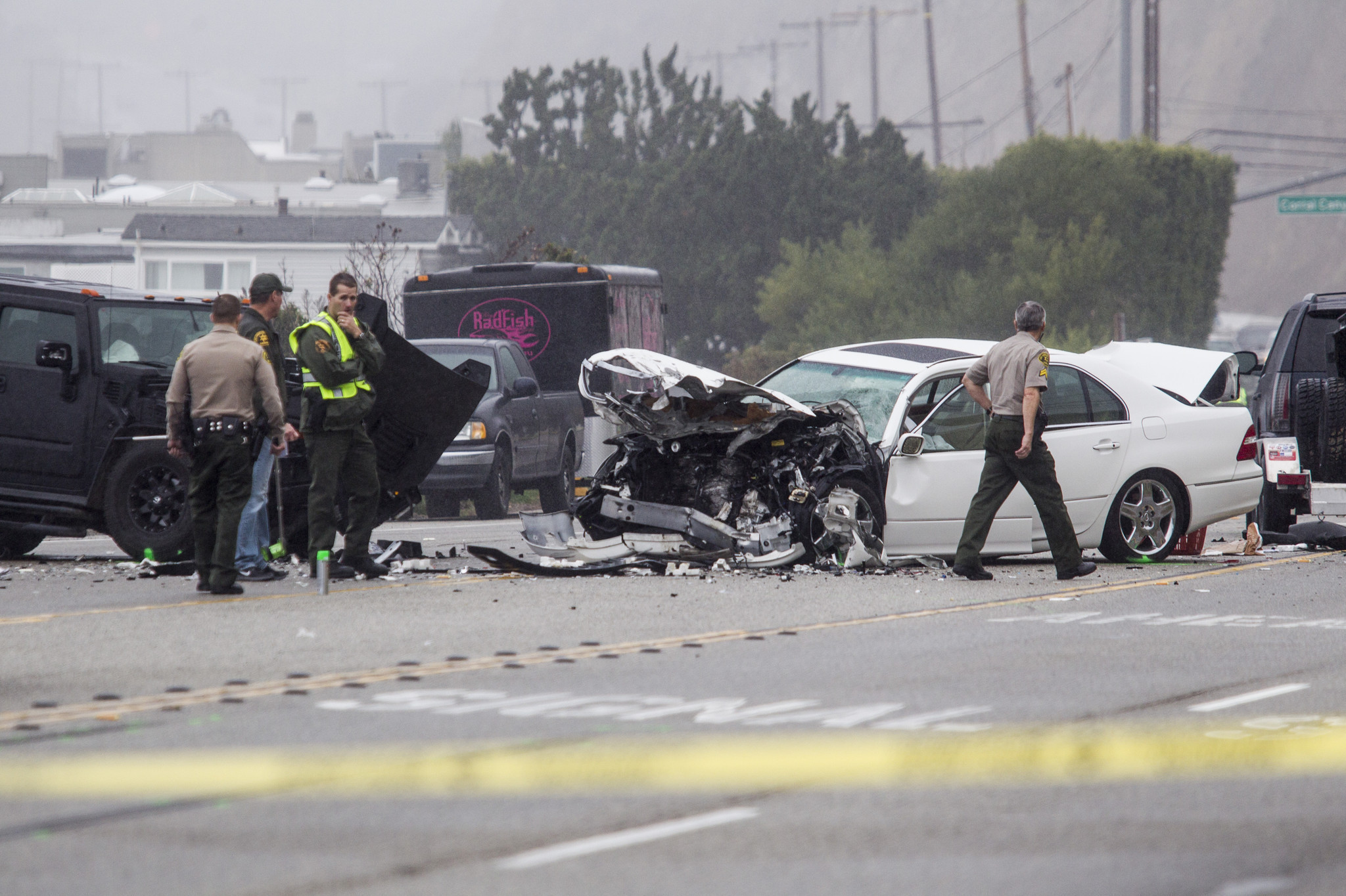 Source: Video Shows Bruce Jenner Hit Two Cars In Fatal PCH