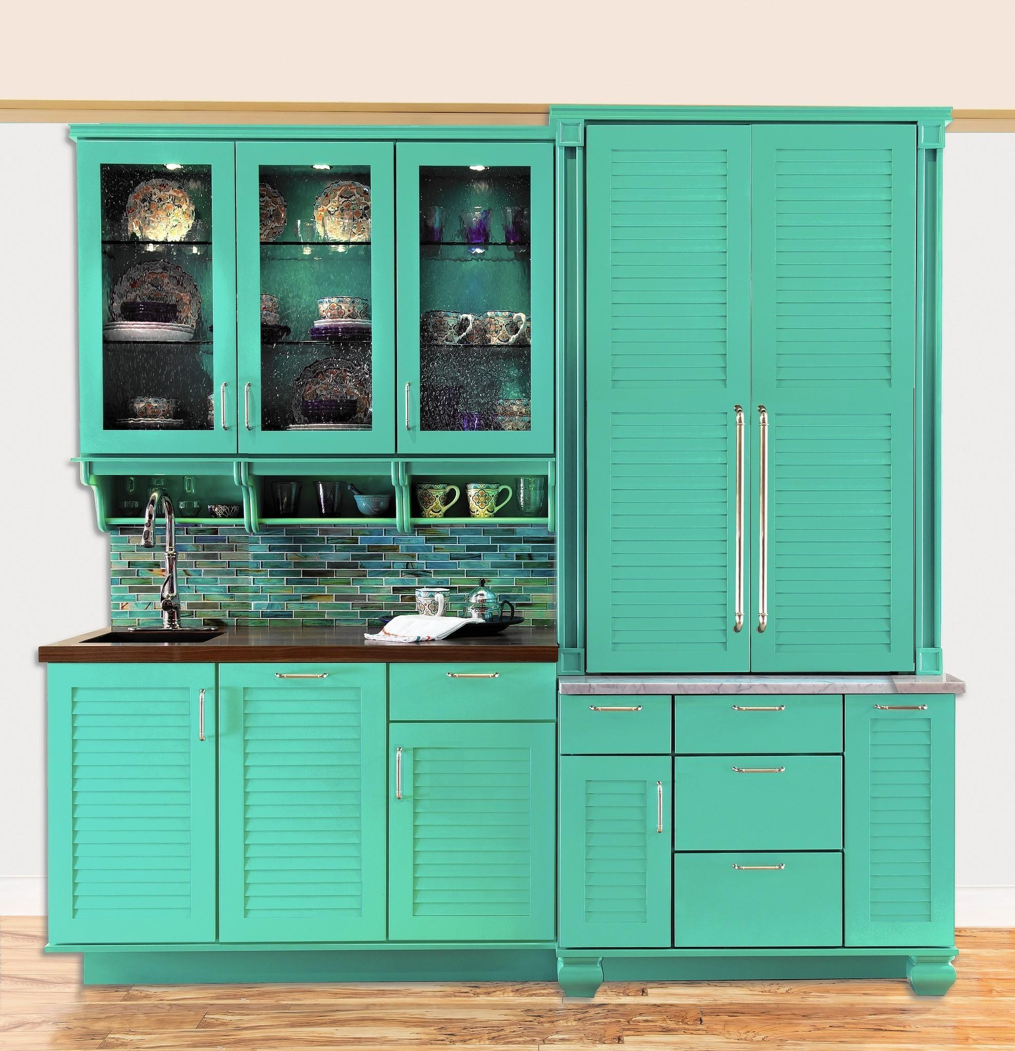 Color comes to the kitchen — bright cabinets and more headed our way ...