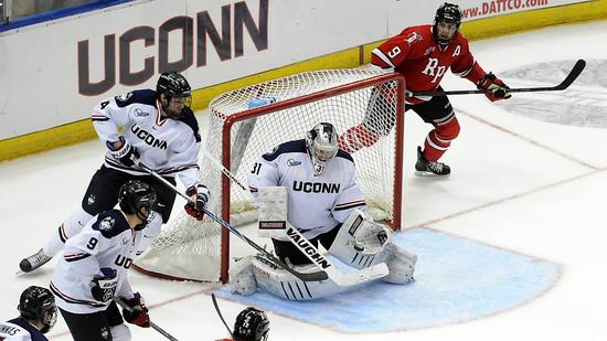 Hockey East: UConn Goaltender Rob Nichols Among Nation's Hockey Leaders