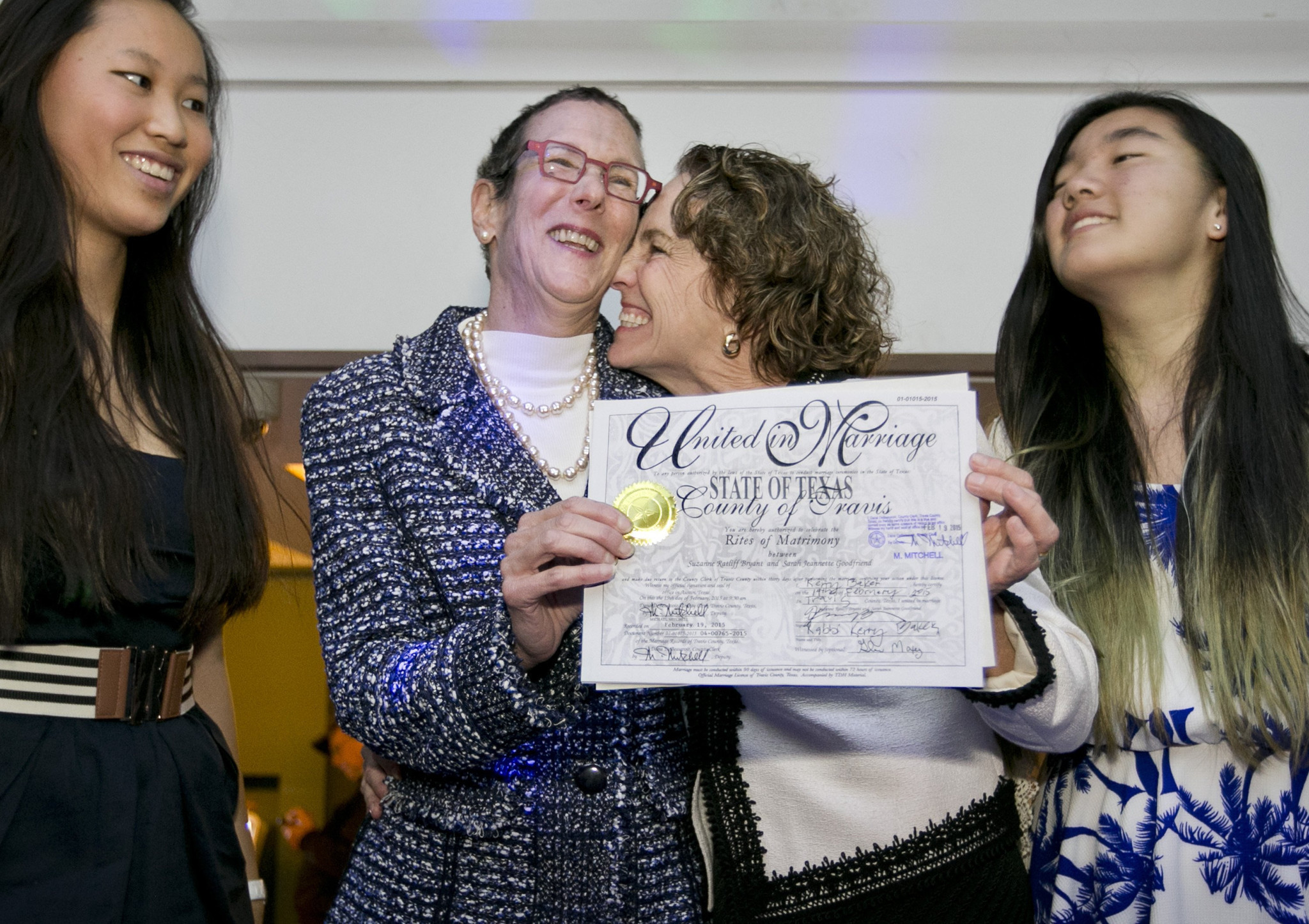 How To Adopt In Tennessee Texas' First Samesex Marriage Weds Couple With  'immediate Health Concerns' La Times