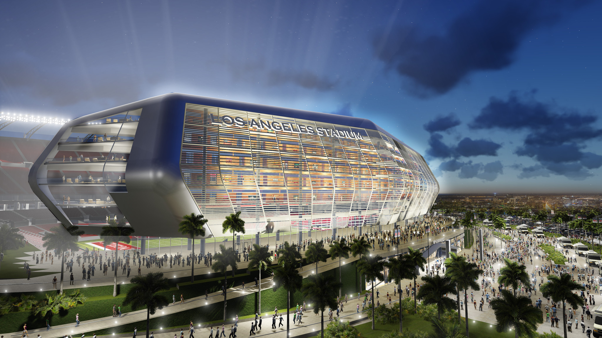 Q Amp A How Does Chargers Raiders Stadium Plan Affect Nfl In