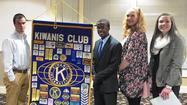 Kiwanians honor students