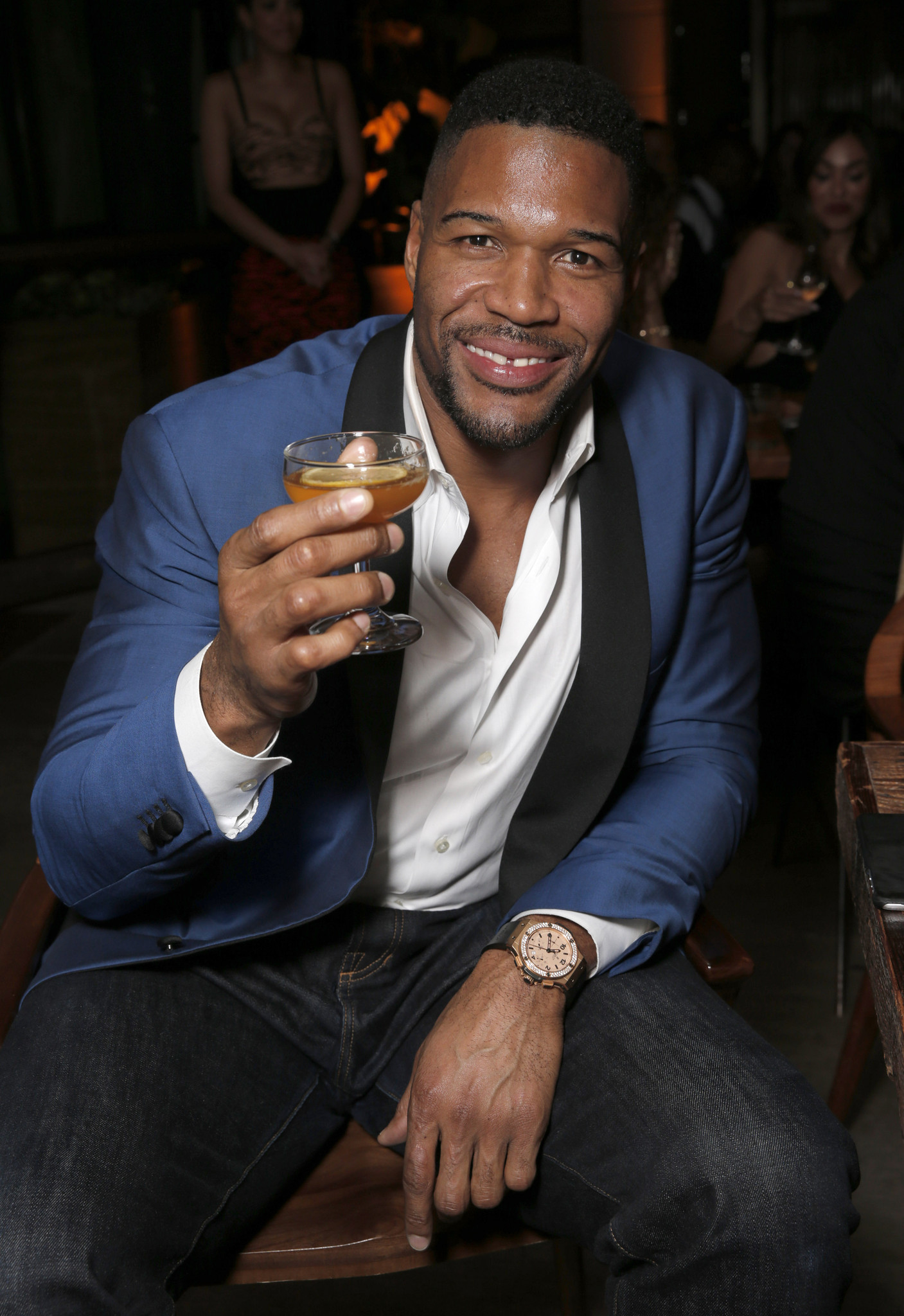 michael strahan football