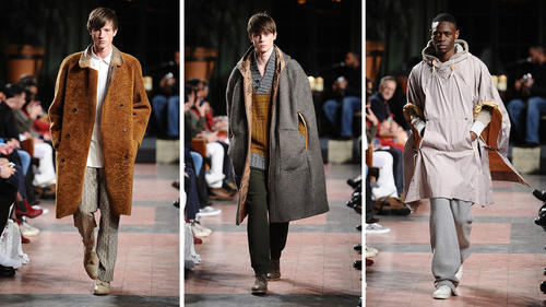 Men Fashion Designer In Nyc Billy Reid men s show during