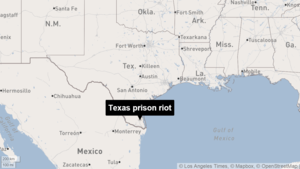Prison officials move to quell riot at federal facility in south Texas
