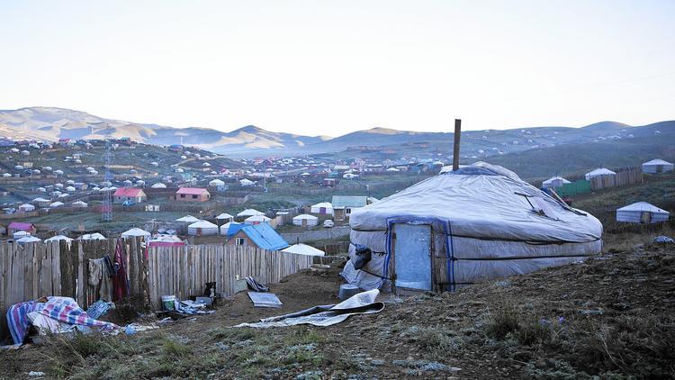 In Ulan Bator, Mongolia