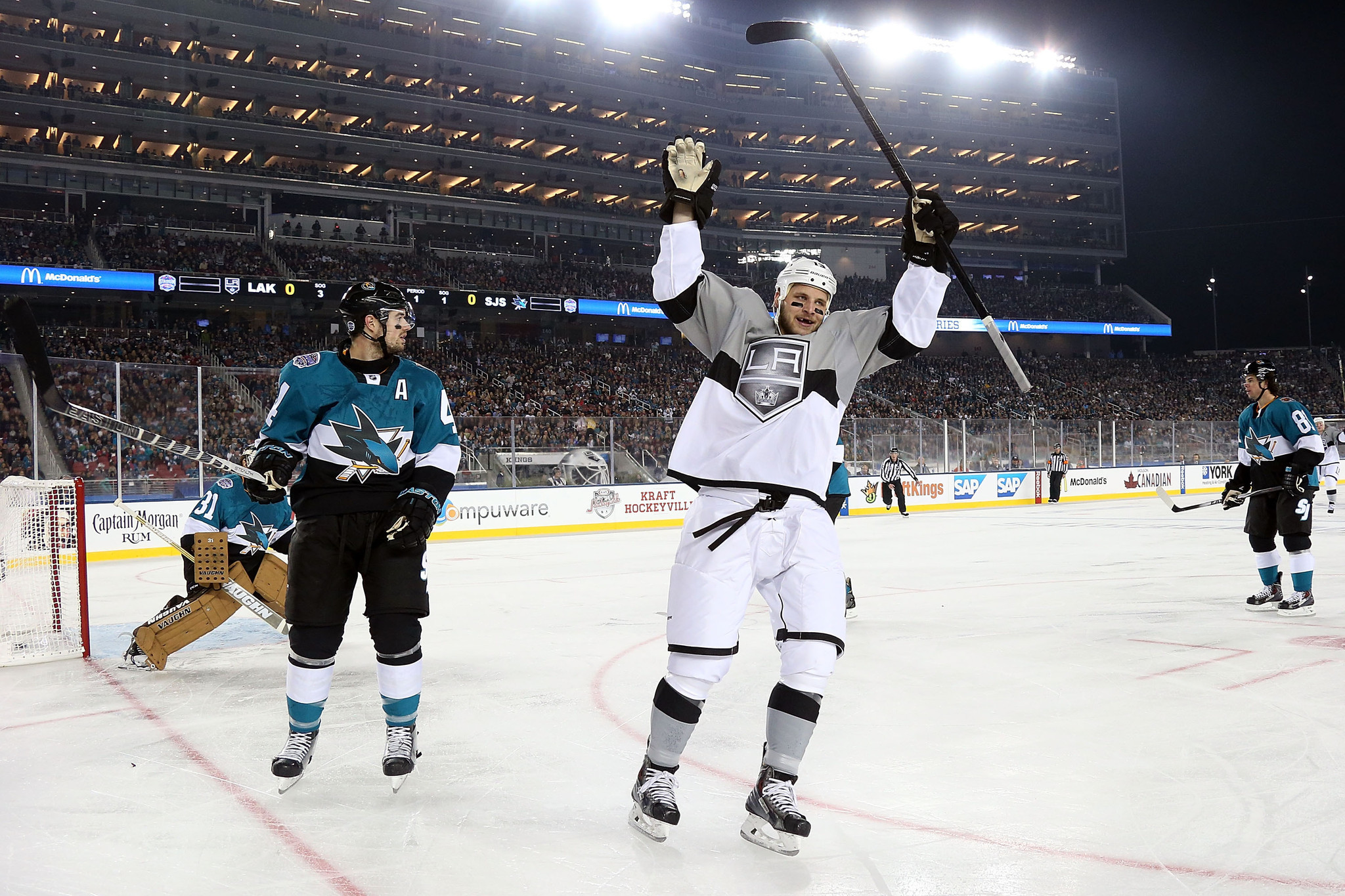 Kings' Marian Gaborik Sends Most Of 70,205 Home Unhappy