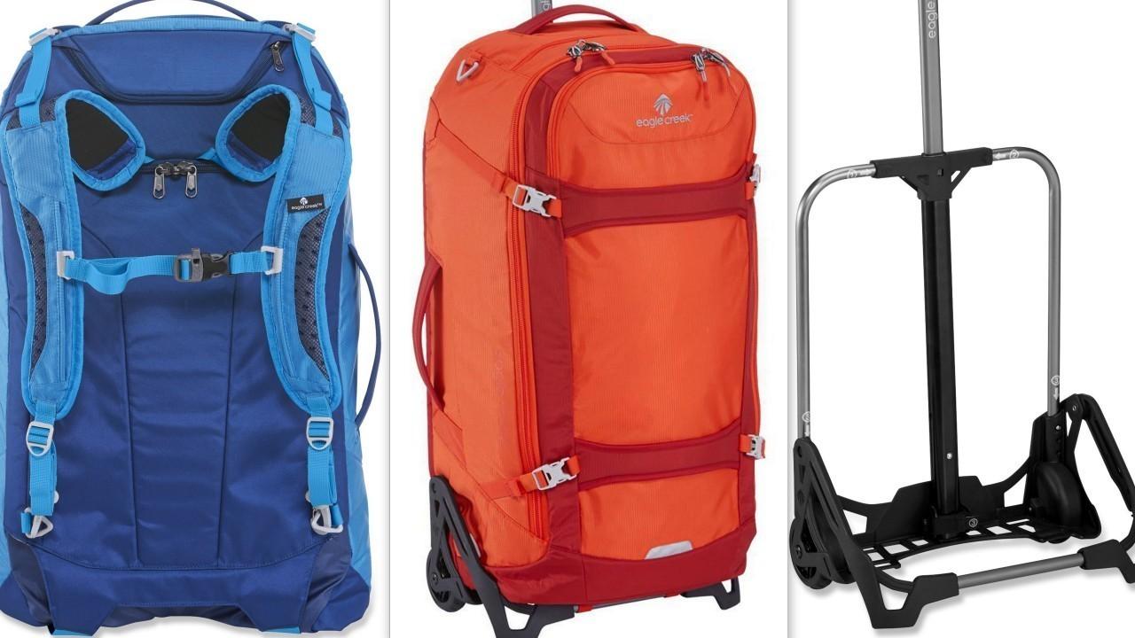 Gear: EC Lync is a workhorse hybrid of backpack and wheeled bag ...