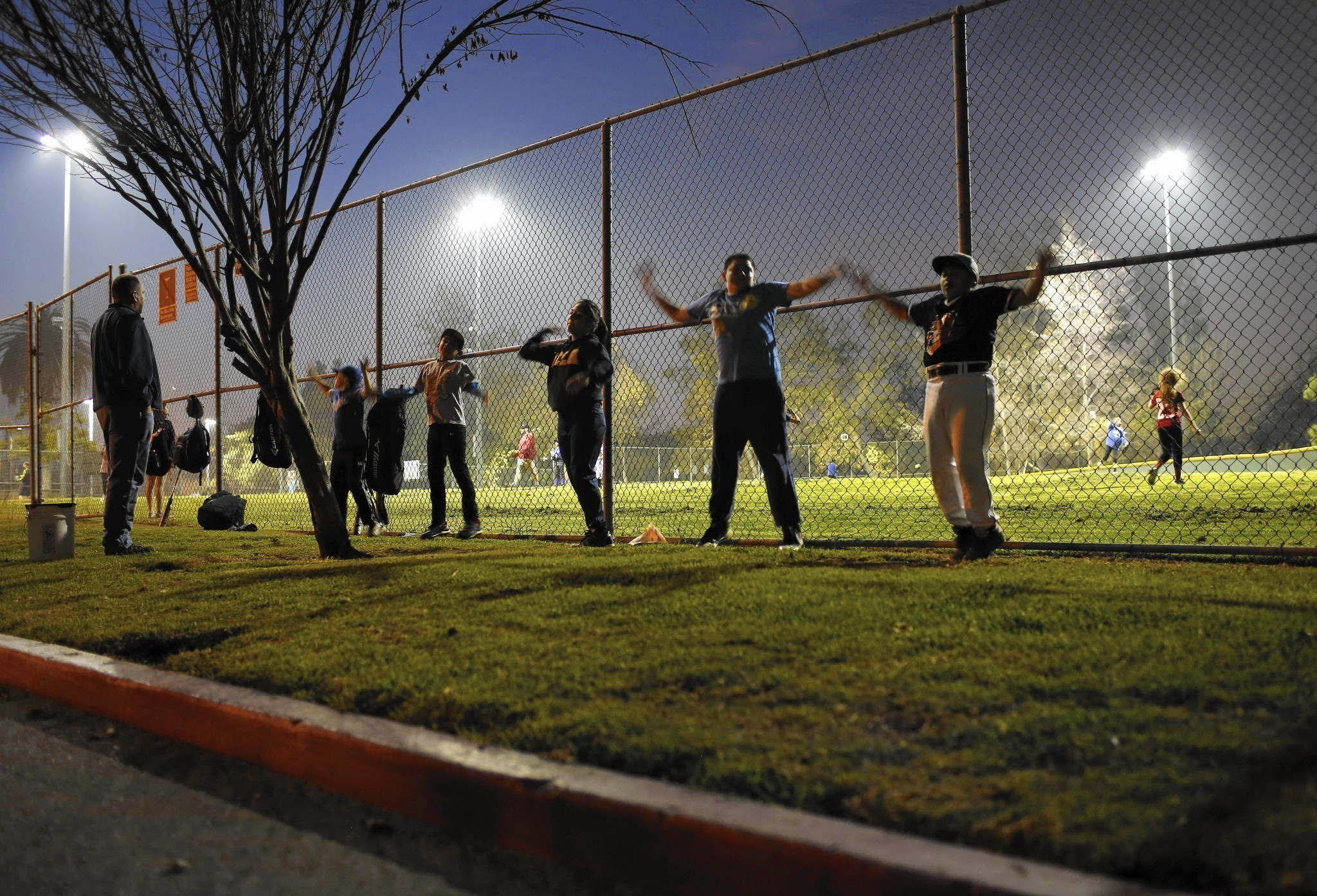 money shuts  youth baseball team   public field la times