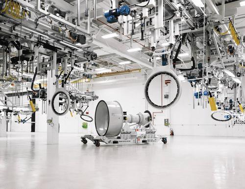 Pratt Begins New Era In Engine Assembly Hartford Courant