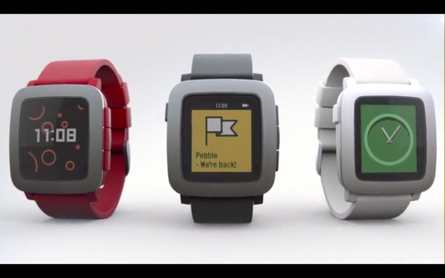 Pebble announces Pebble Time smartwatch