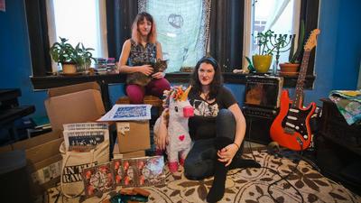 Madi Shapiro of Wet Brain starts a 7-inch label, Girl Problem Records