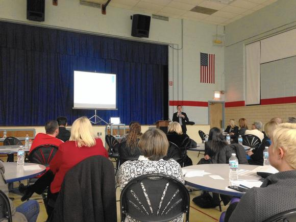 About 40 Lincolnwood Community Members Attended A Meeting