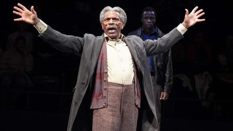 "KingAndré De Shields as Stool Pigeon in ""King Hedley II"" at Arena Stage Hedley II"