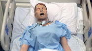 Hospital's $20K donation will go toward lifelike mannequin for GCC students