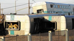 California train crash: Investigators locate video of crash