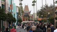 Pictures: Disney Hollywood Studios sorcerer's hat through the years