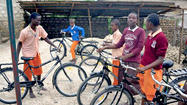 Group's charity event aims to donate bikes to orphans