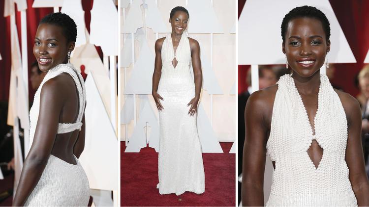 Lupita Nyong'o,Lupita Nyong'o's $150,000 pearl dress is missing?