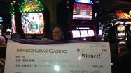 $44K slot winner at Mardi Gras